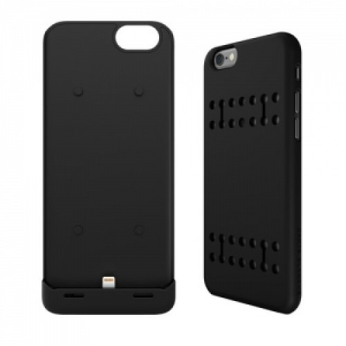 Boostcase Hybrid Power iPhone 6 Black