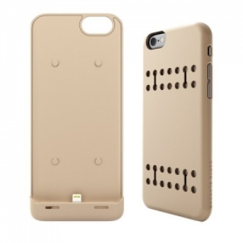 Boostcase Hybrid Power iPhone 6 Gold