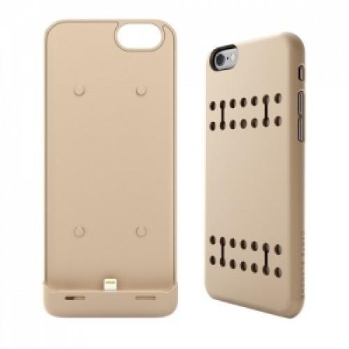 Boostcase Hybrid Power iPhone 6 Gold