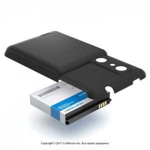 Аккумулятор craftmann для LG P920 OPTIMUS 3D