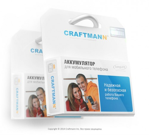 Аккумулятор craftmann для LG K4 K130