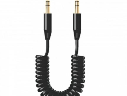 Deppa AUX Black 1.2m
