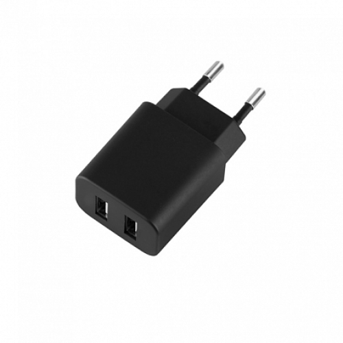 Deppa сетевая зарядка Ultra 2.1 A Black