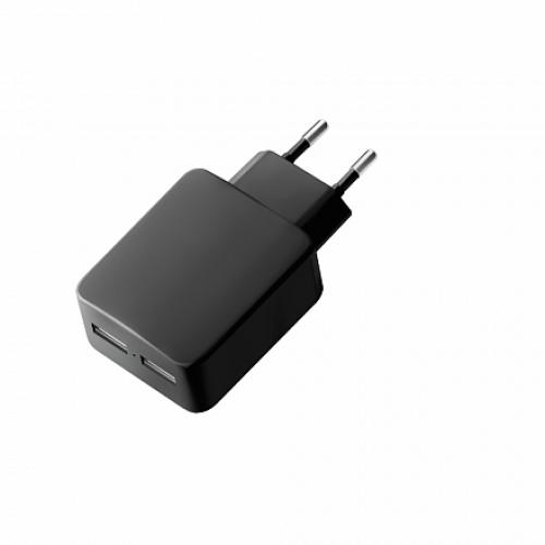 Deppa сетевая зарядка Ultra 3.4A Black