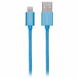 Momax Lightning Blue 1.0m