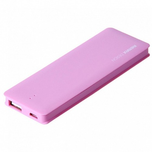 Remax Candy bar 5000 mAh Pink