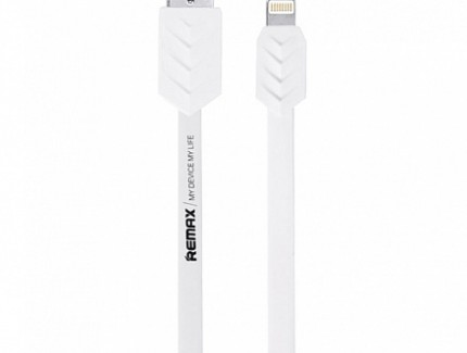 Remax Lightning Fishbone White 1.0m