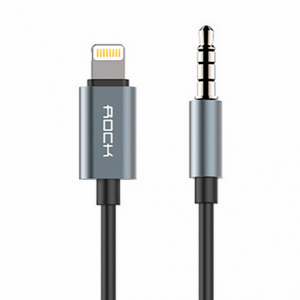 Rock Lightning AUX Gray 1.0m