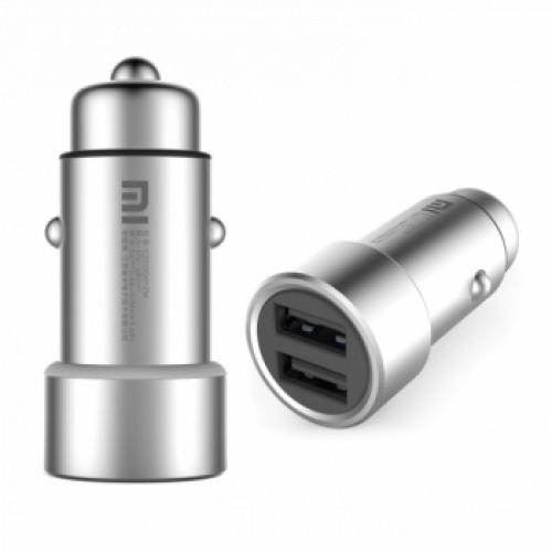 Xiaomi автомобильная зарядка Silver
